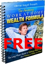 2. Work At Home Wealth Formula